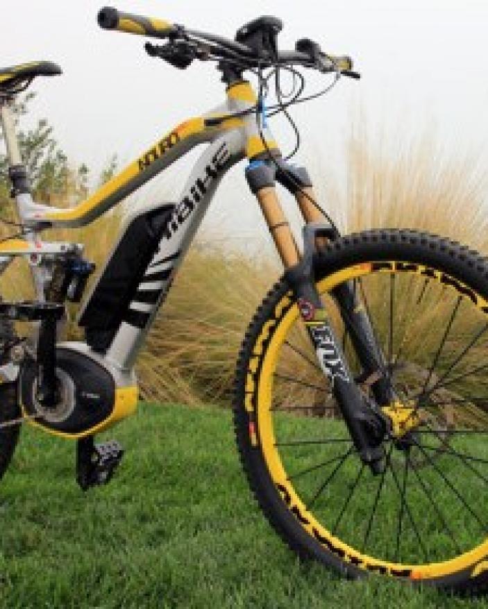 Sufa frina spate bicicleta