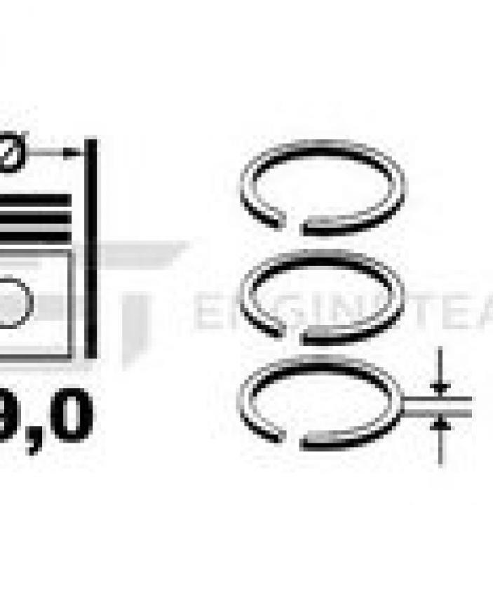 SEGMENTI MOTOR OPEL 08-125600-00
